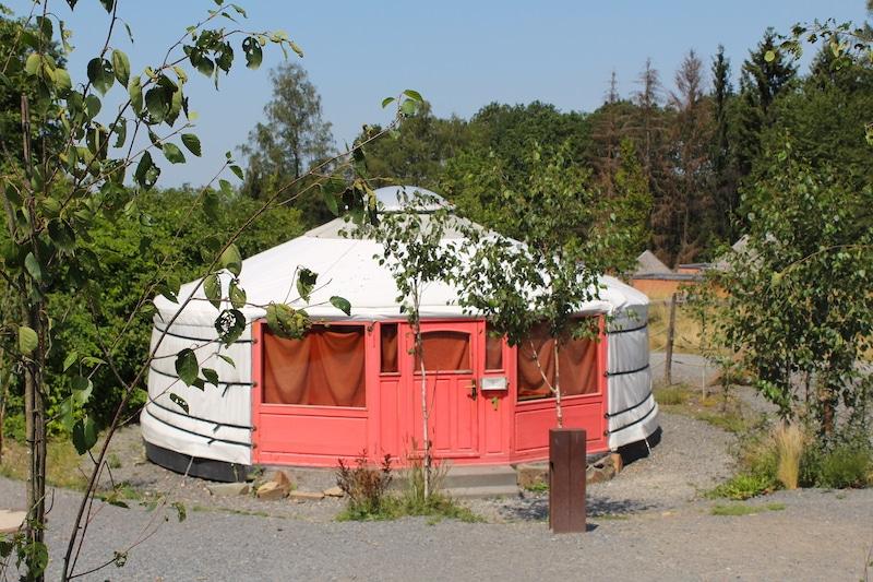 Eine besondere Übernachtungsmöglichkeit im Panarbora sind die Jurten.