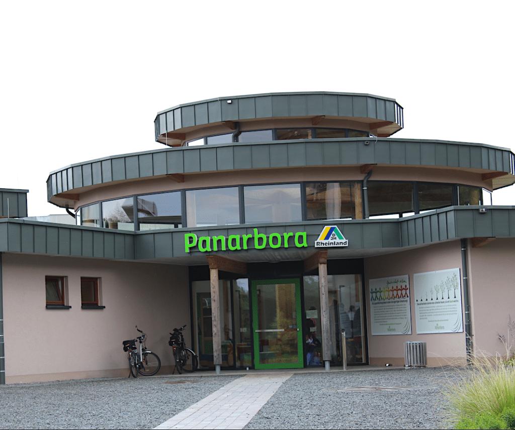 Der Panarbora Haupteingang