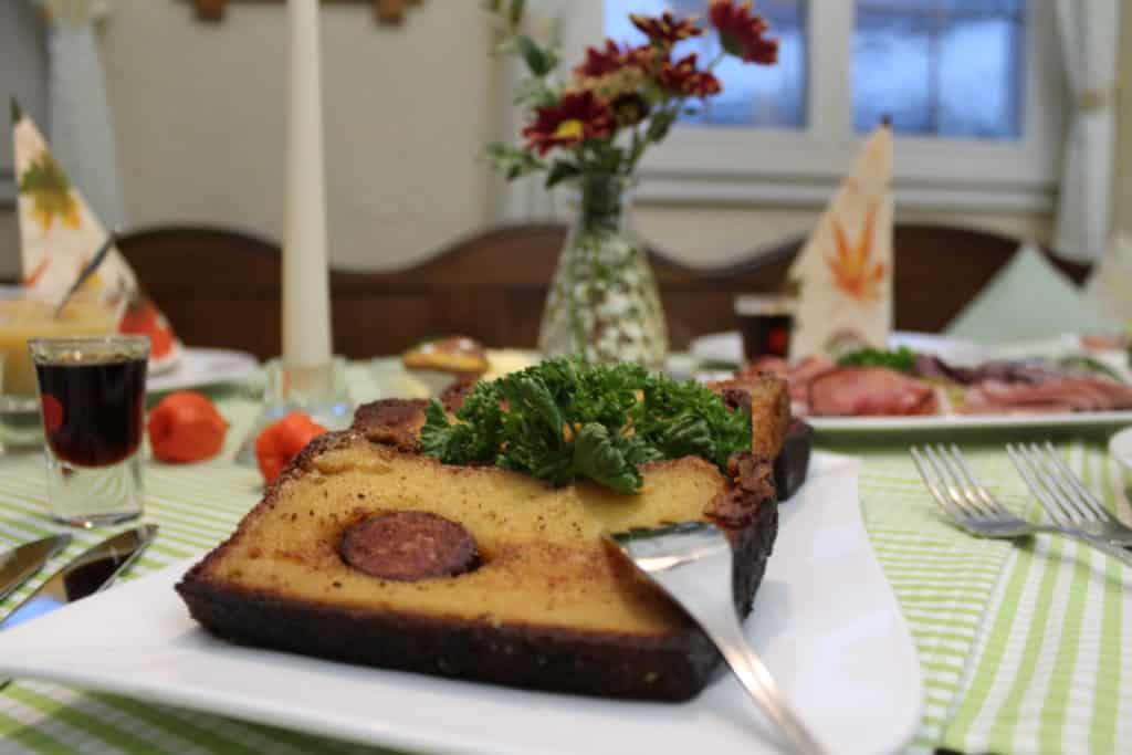 Potthucke - ein wesentlicher Bestandteil der Bergischen Abendtafel.