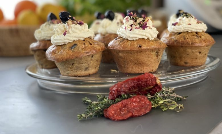 Photo of Herzhaft mediterrane Kartoffel-Cupcakes